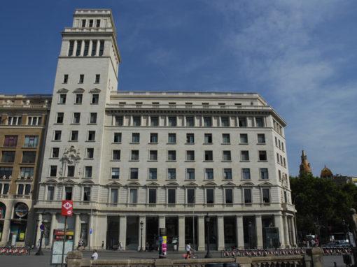 Rehabilitación y refuerzo en Paseo de Gracia 1, Barcelona