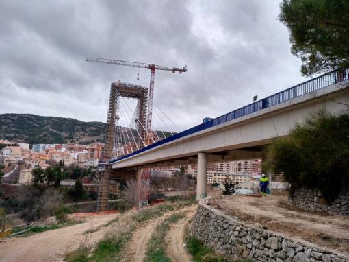 Sustitución de apoyos en el Puente de Fernando Reig de Alcoy