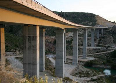 Viaducto en Mula, Autovía Alcantarilla-Caravaca