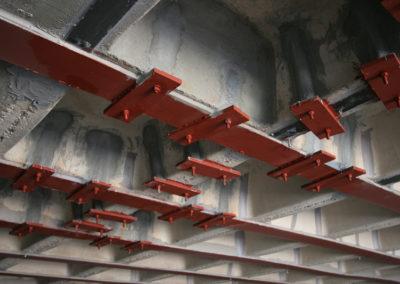 Refuerzo y reparación de estructuras en Parque Tecnológico de Leganés