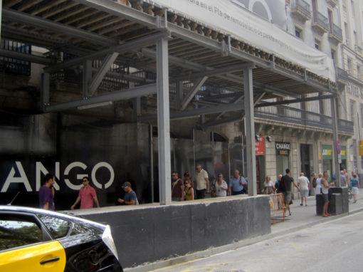 Local comercial para MANGO en Puerta del Ángel de Barcelona