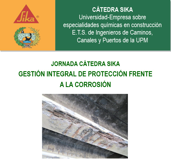 Ponencia de Francisco González en la Cátedra Sika de la UPM
