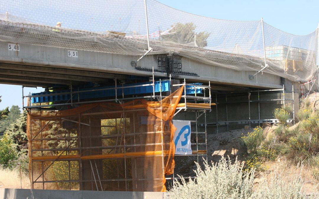 Reparación de Estructuras en la Autovía A-1